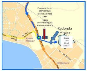 localizacion concentracion san roque misiles patriot